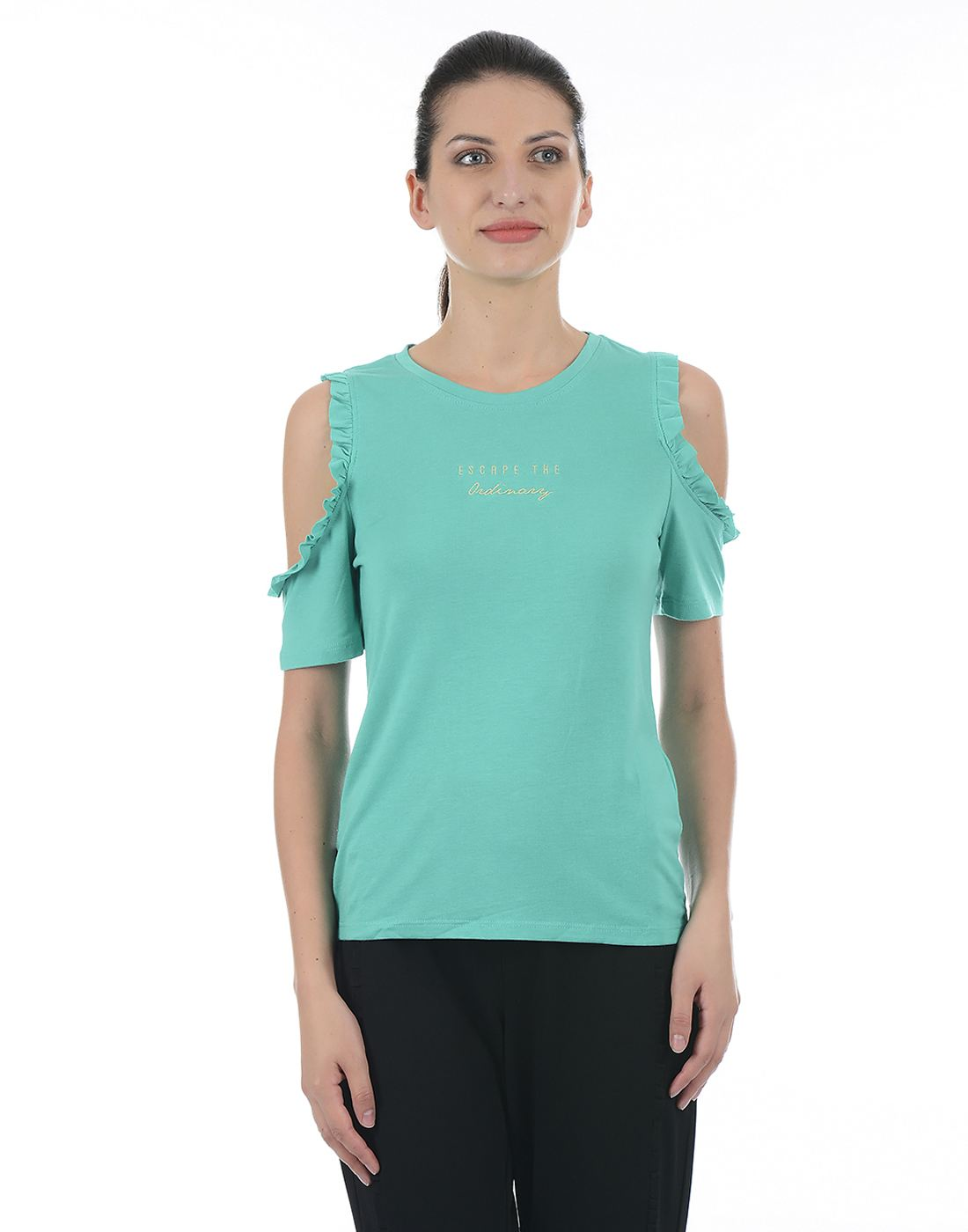 ONLY Women Casual Green Top