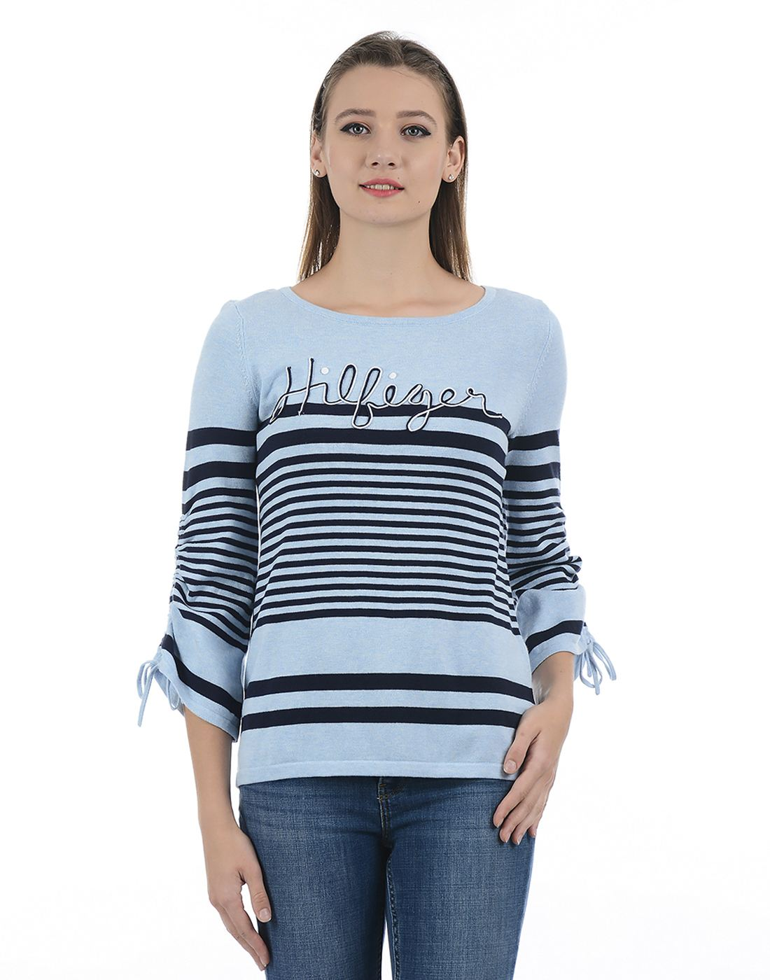 Tommy Hilfiger Women Blue Sweater