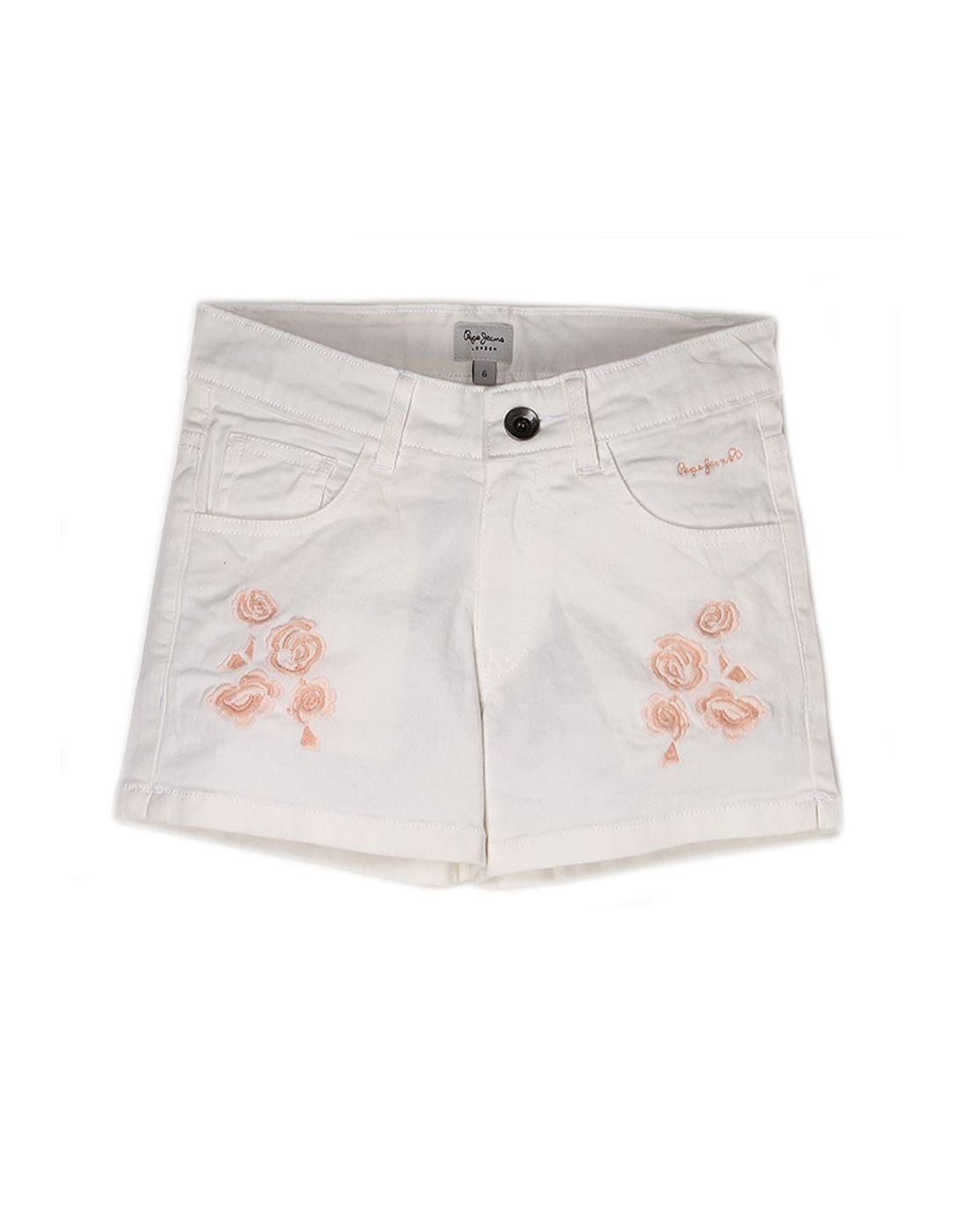 Pepe Jeans Girls Cotton Short
