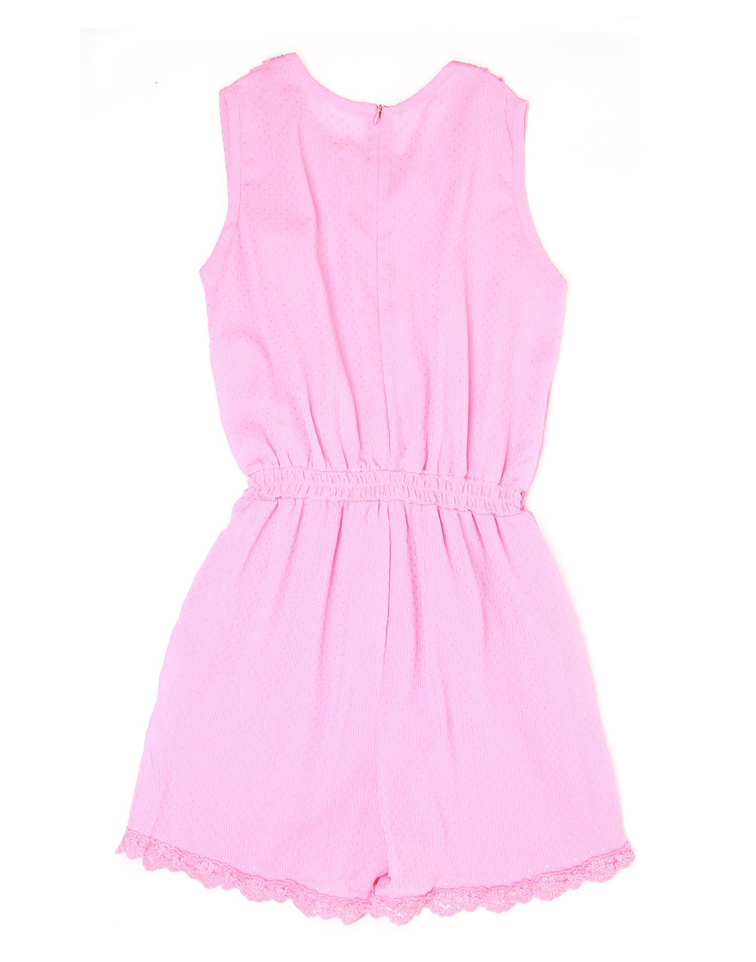 K.C.O 89 Girls Casual Solid Sleeveless Jump Suit