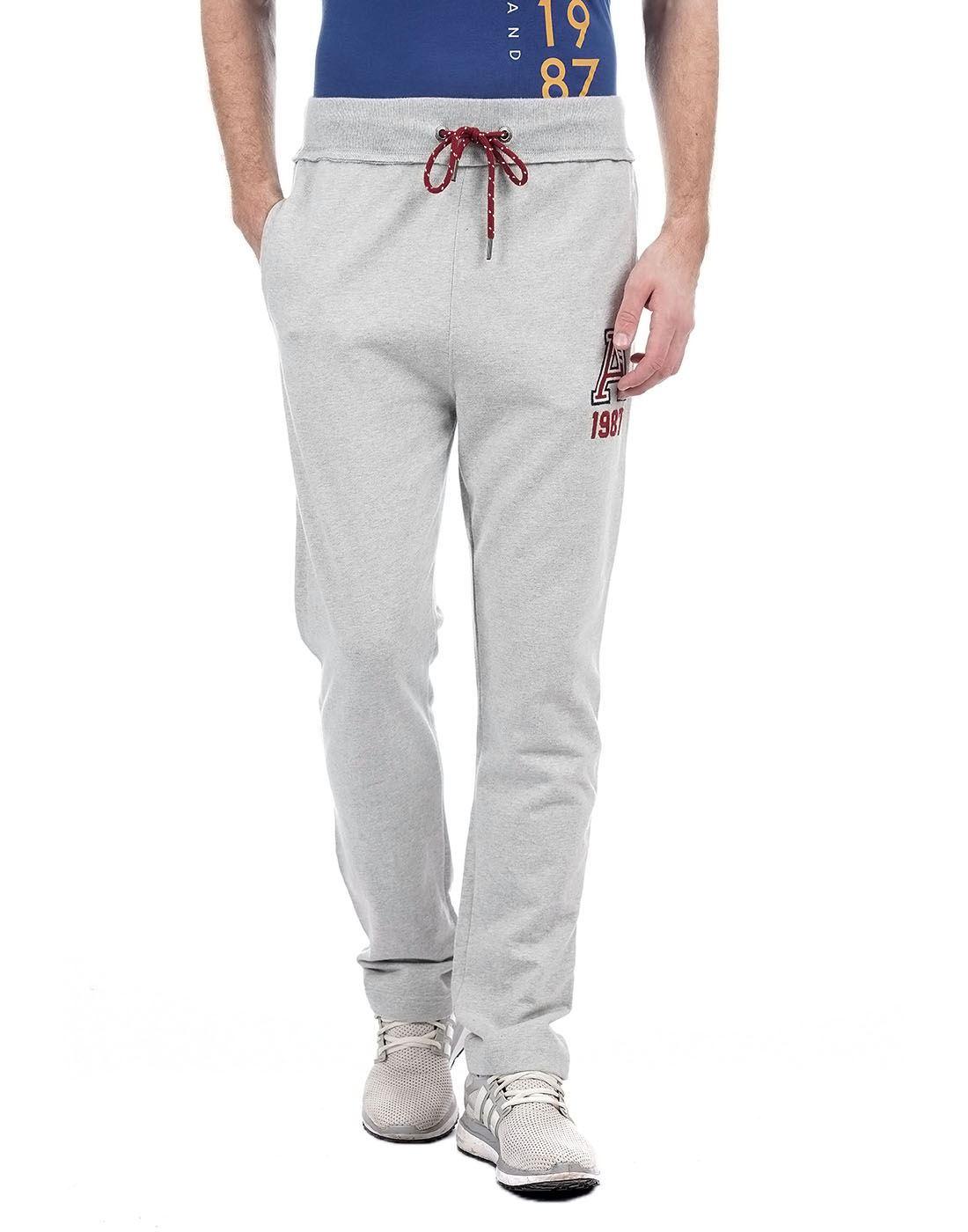 Aeropostale Men Grey Track Pant
