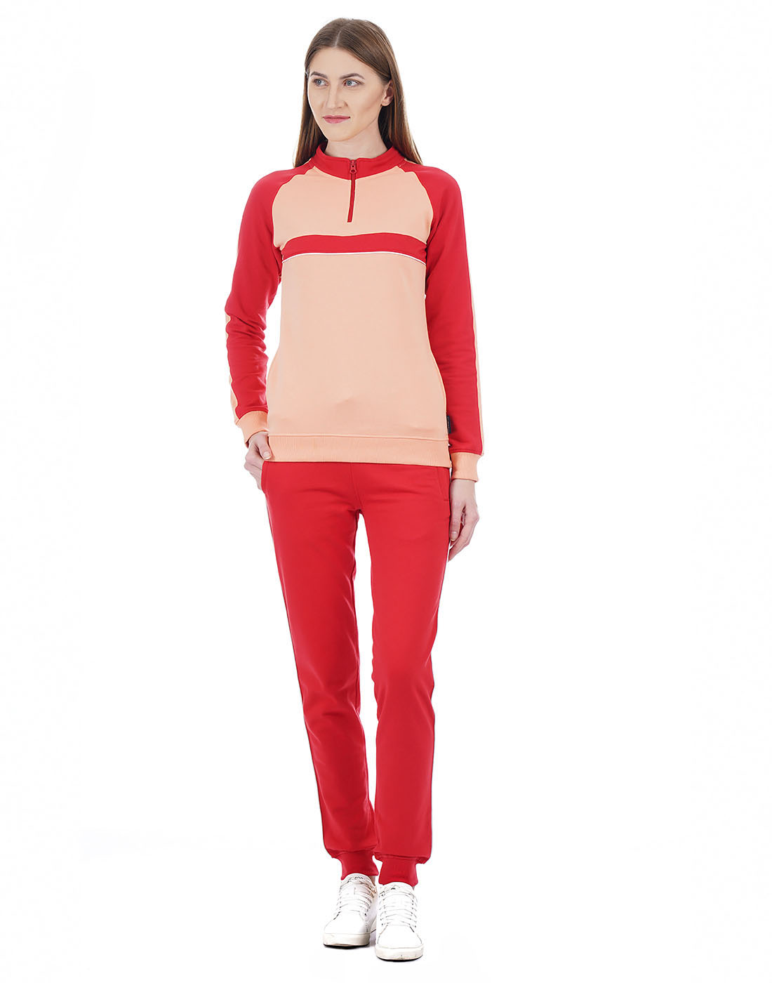 Cloak & Decker Women Red Tracksuit
