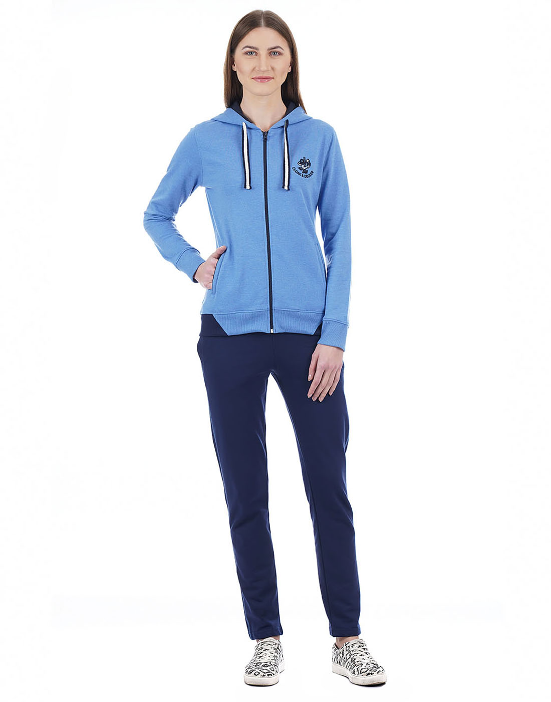 Cloak & Decker Women Blue Tracksuit