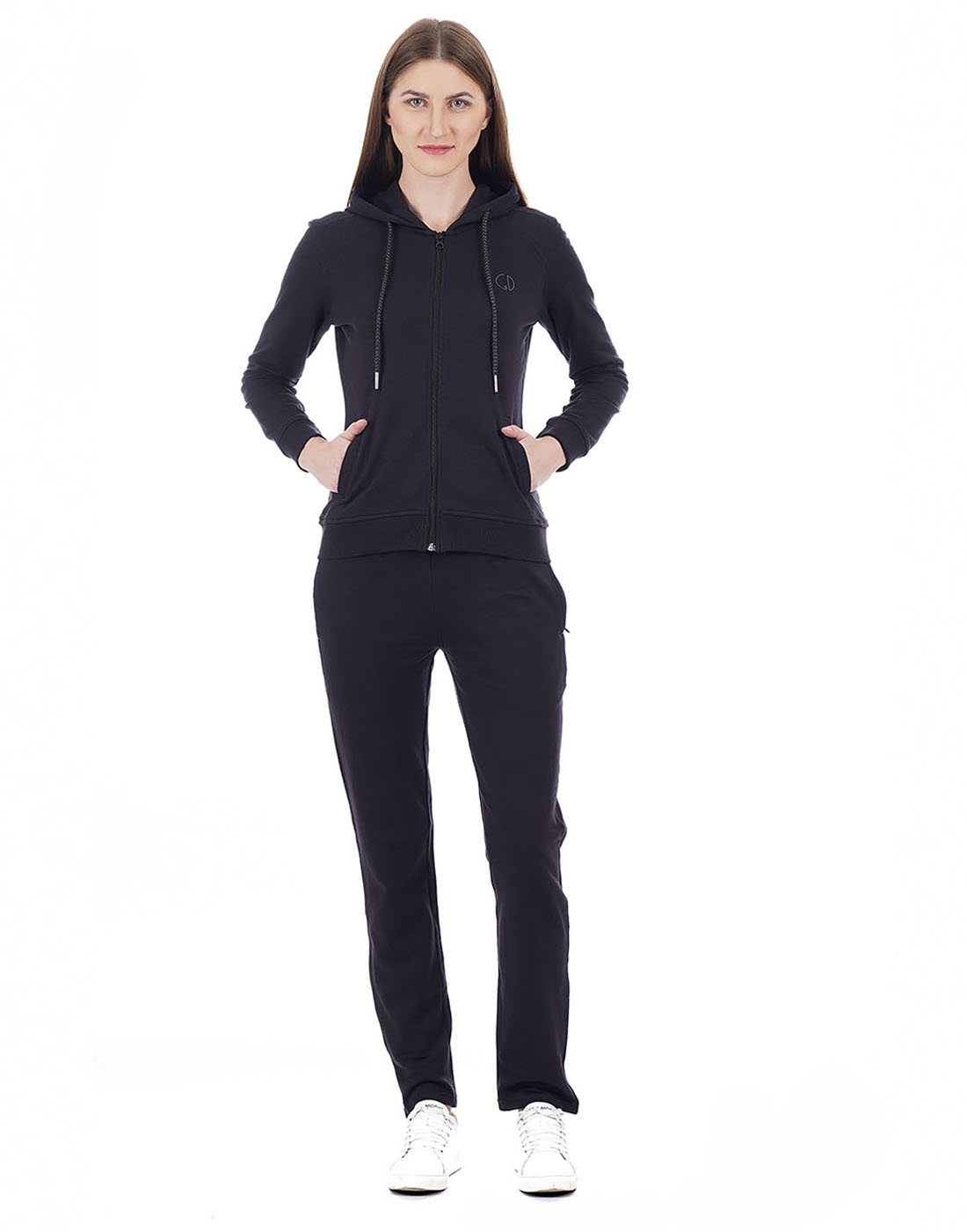 Cloak & Decker Women Black Tracksuit
