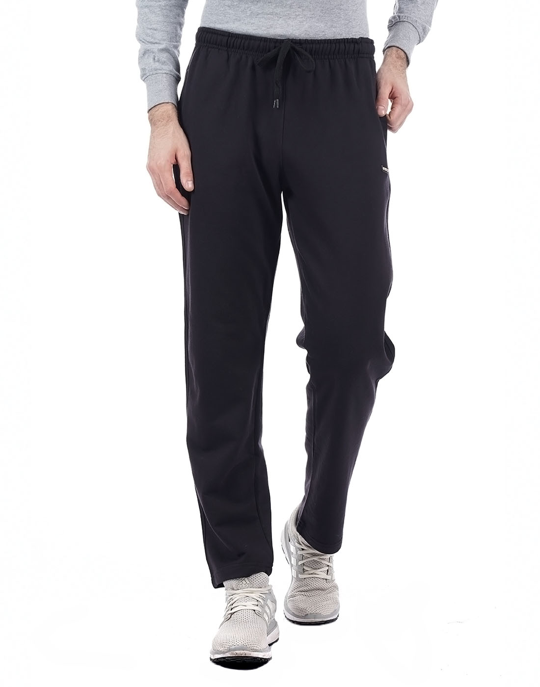 Cloak & Decker Men Black Track Pant