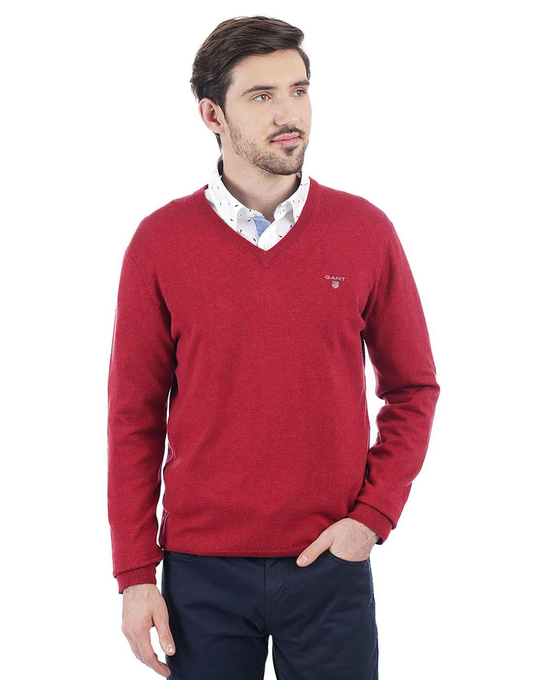 Gant Men Red Pullover