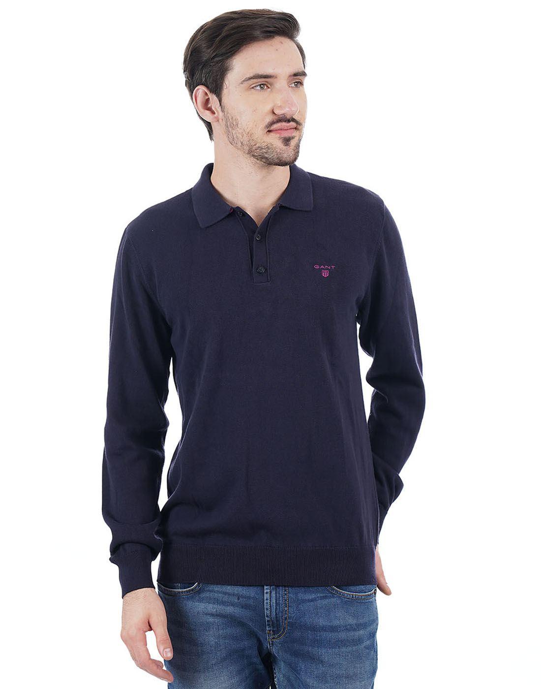 Gant Men Navy T-Shirt
