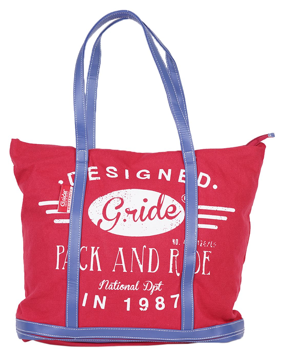 Celine Shopping Bag (Red) by G.ride