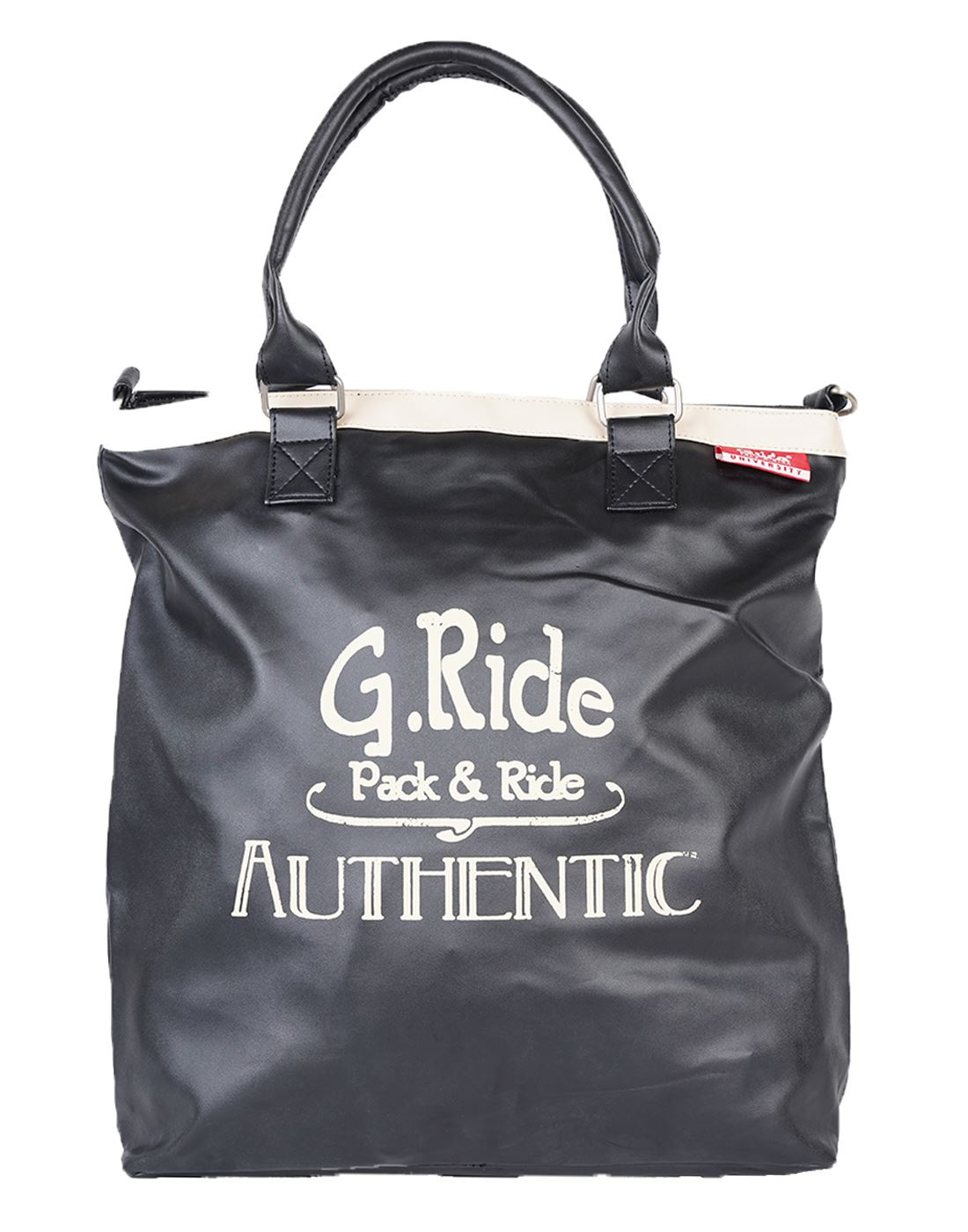 Tiana Shopping Bag (Black) by G.ride