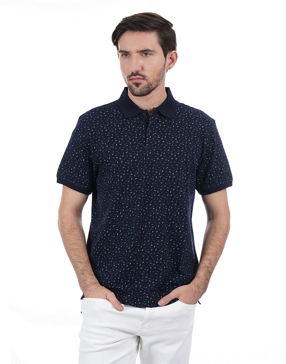 Indian Terrain Men Printed Casual Wear T-Shirt