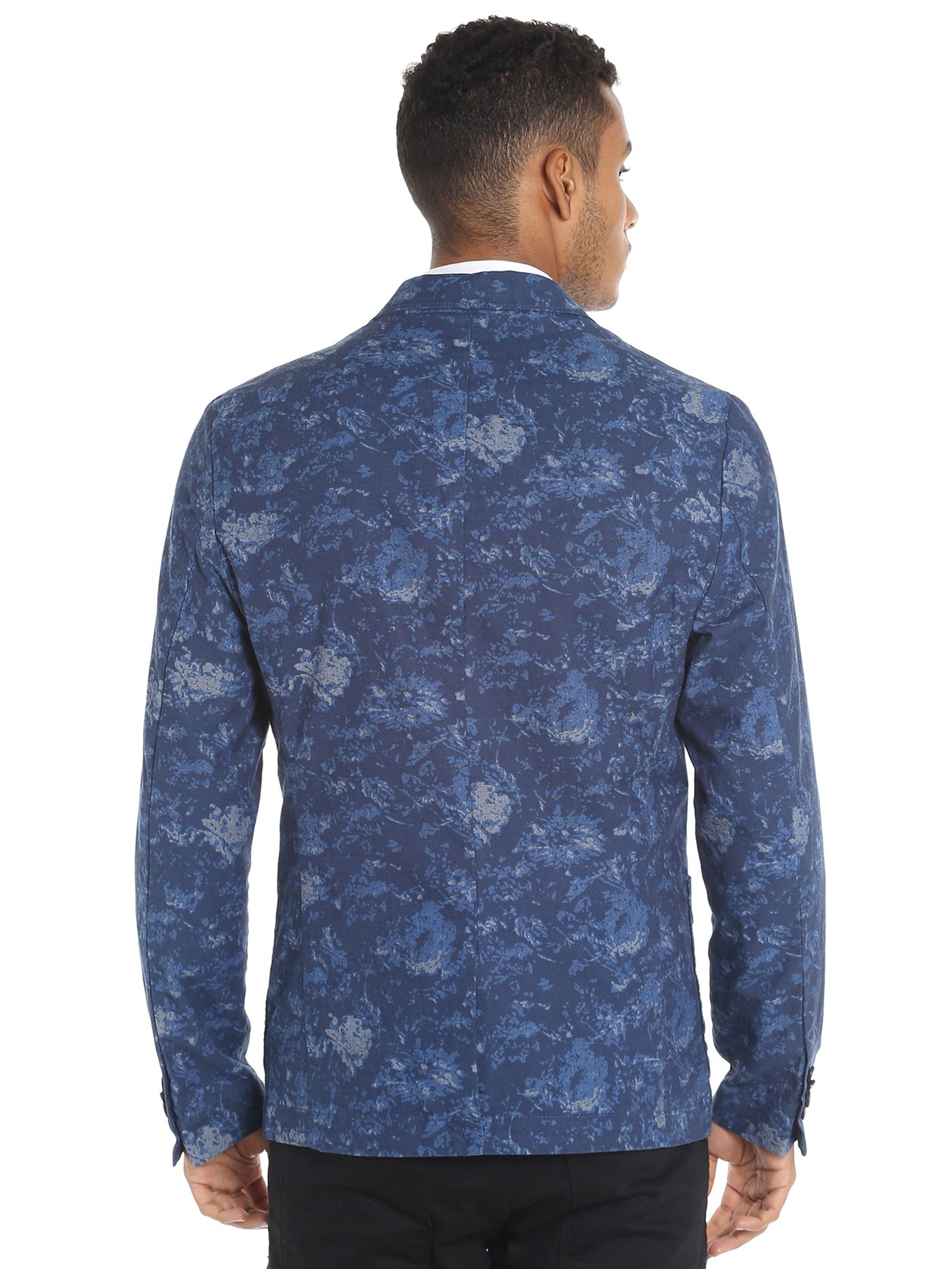 Jack & Jones Casual Printed Men Blazer