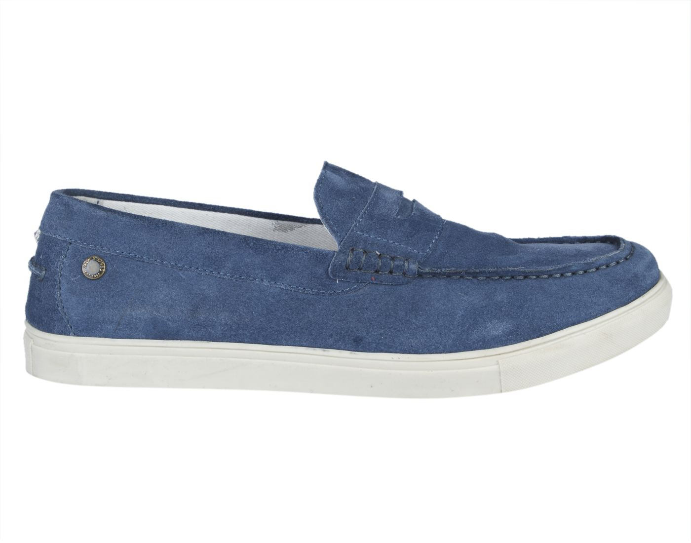 Jack & Jones Flint Stone Leather (TPR Sole) Slip-On Sneakers
