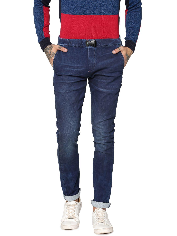 Jack & Jones Men Casual Navy Jeans