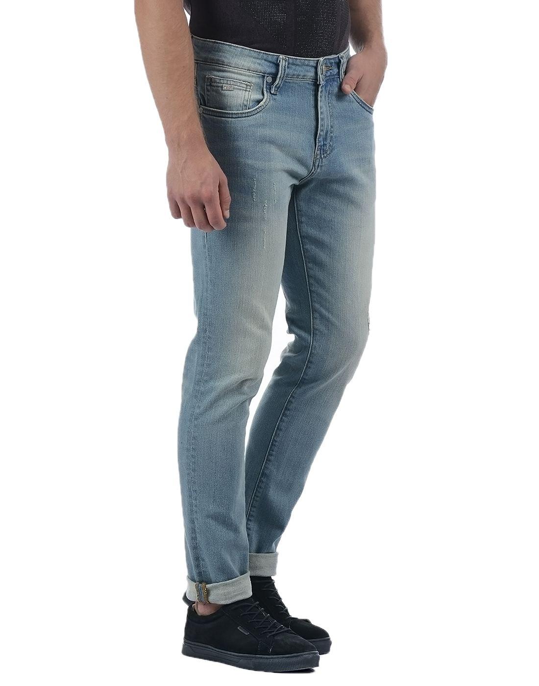 Ed Hardy Men's Blue Dagger Fit Jeans