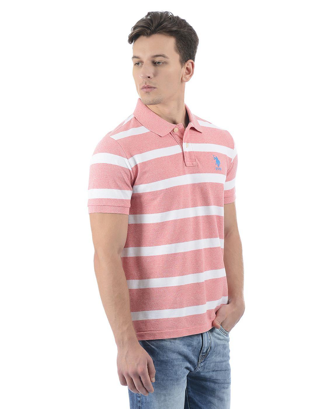 U.S. Polo Association Men Casual T-shirt