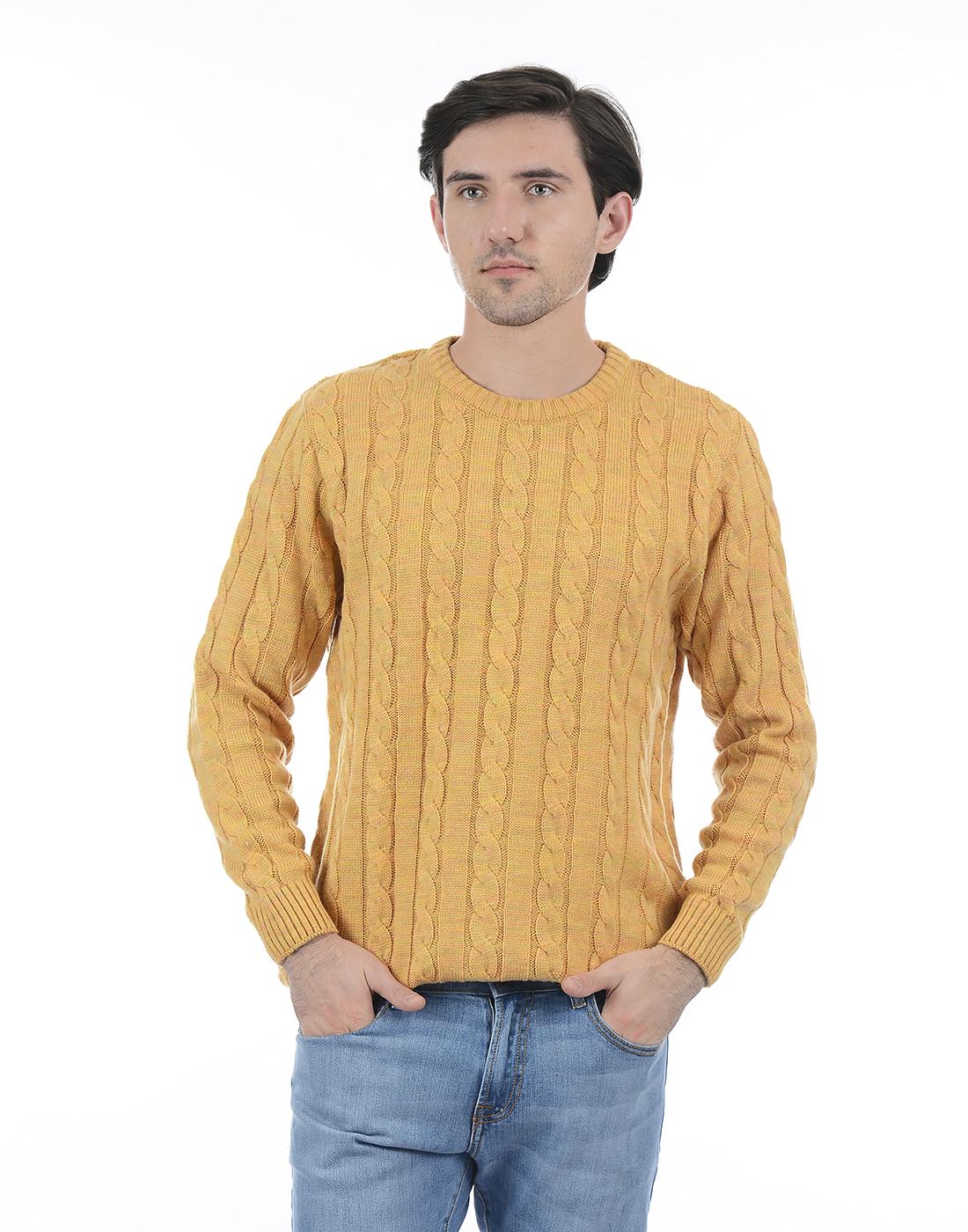 London Fog Men Gold Sweater