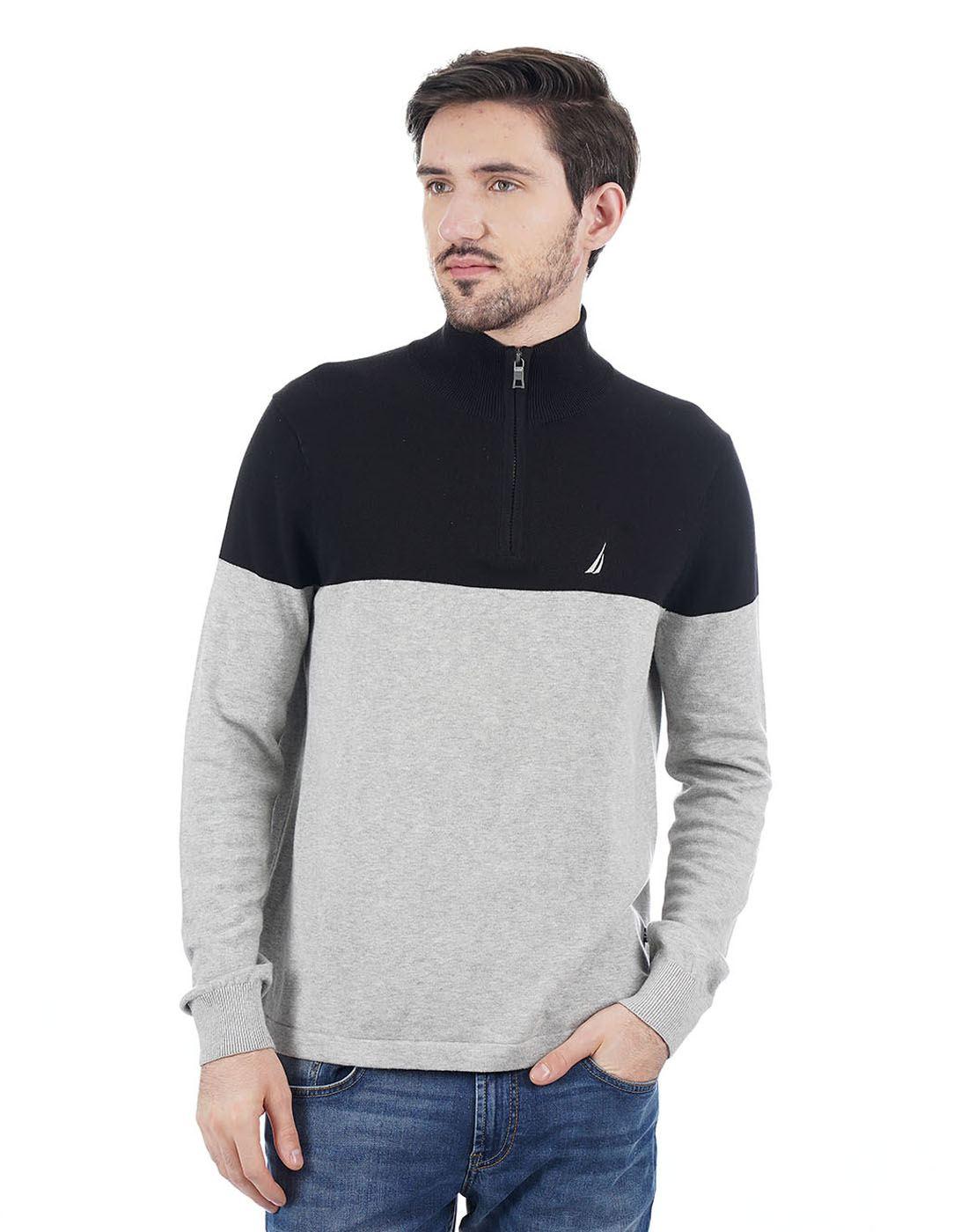 Nautica Men Grey Pullover