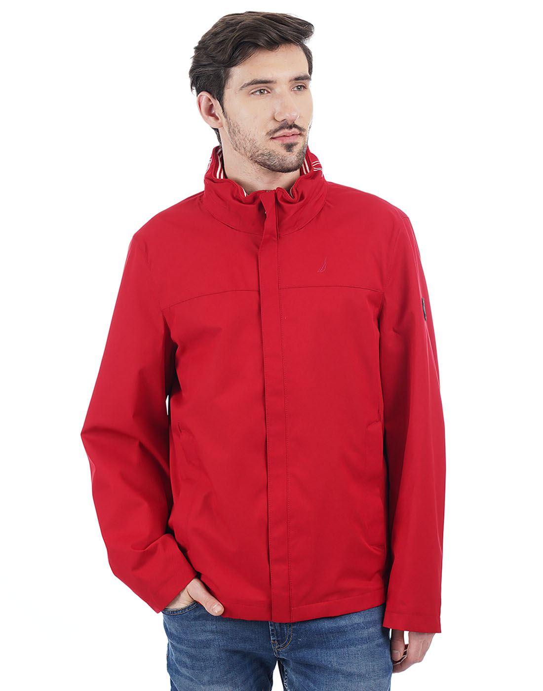 Nautica Men Red Jacket