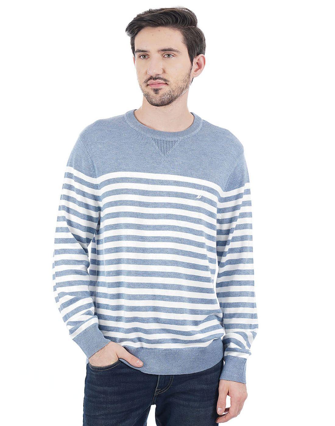 Nautica Men Blue Pullover