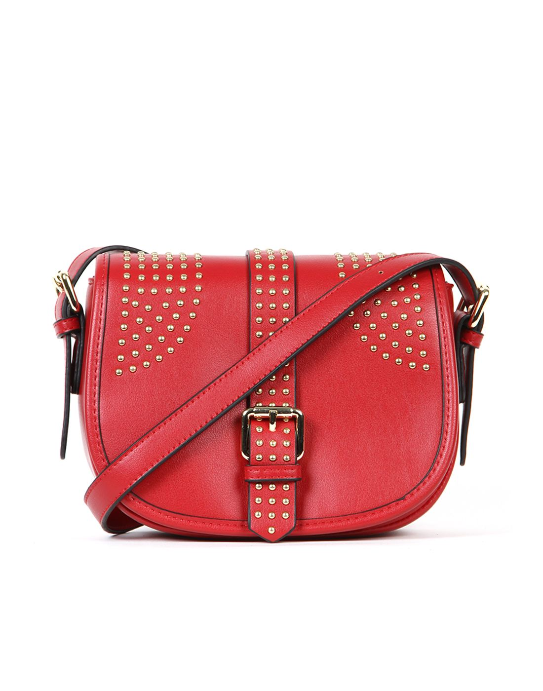 Norman Todd Women Red Sling Bag