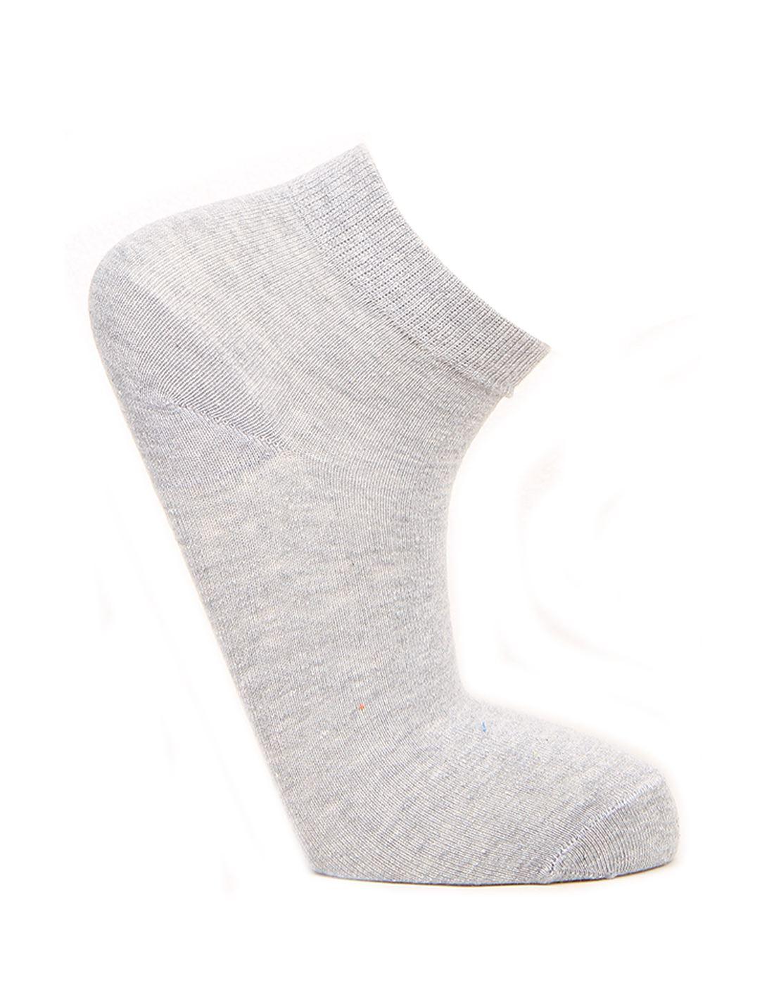 Norman Todd Women Grey Ankle Length Socks