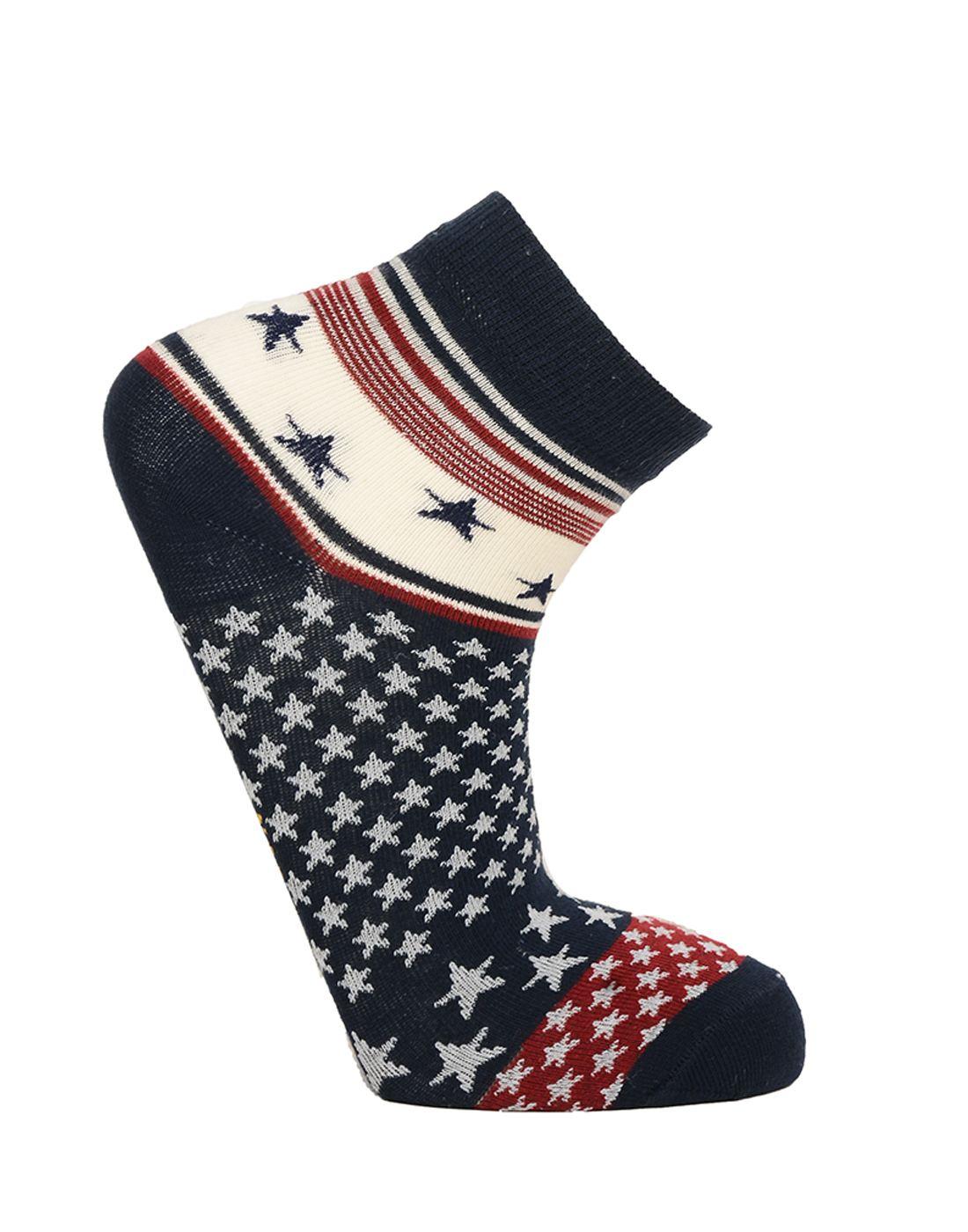 Norman Todd Women Multi-Coloured Ankle Length Socks