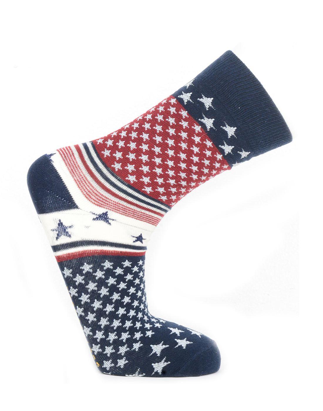 Norman Todd Women Multi-Coloured Mid-calf Length Socks