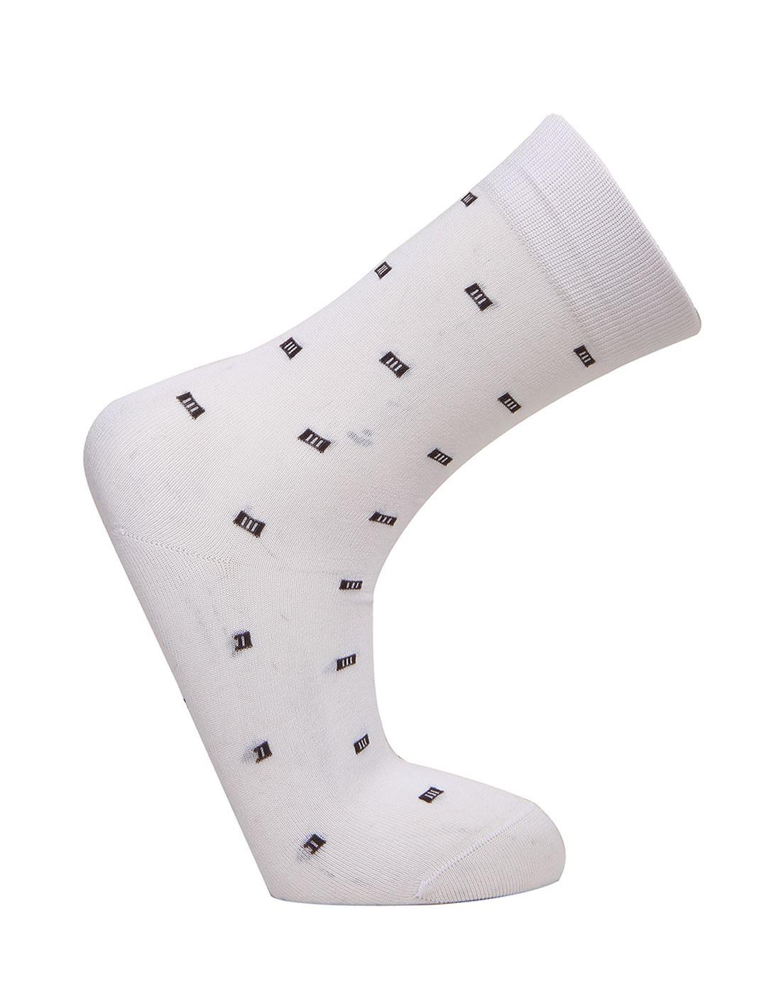 Norman Todd Women White Mid-calf Length Socks