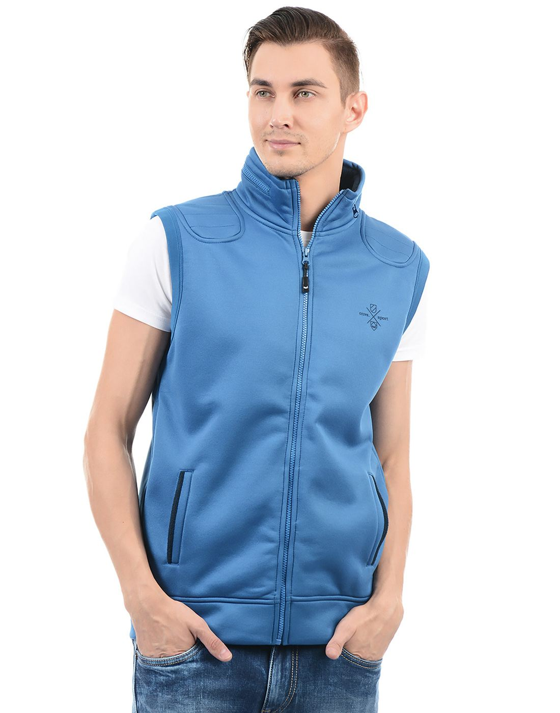 On-Vers Men Blue Jacket
