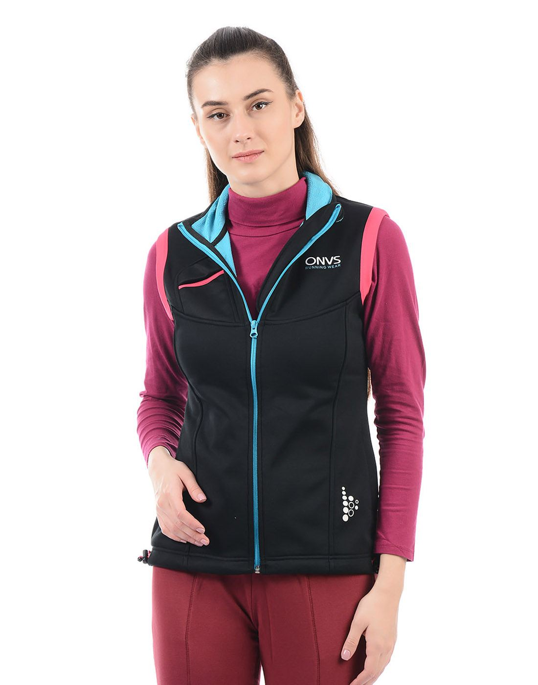 On-Vers Women Black Jacket
