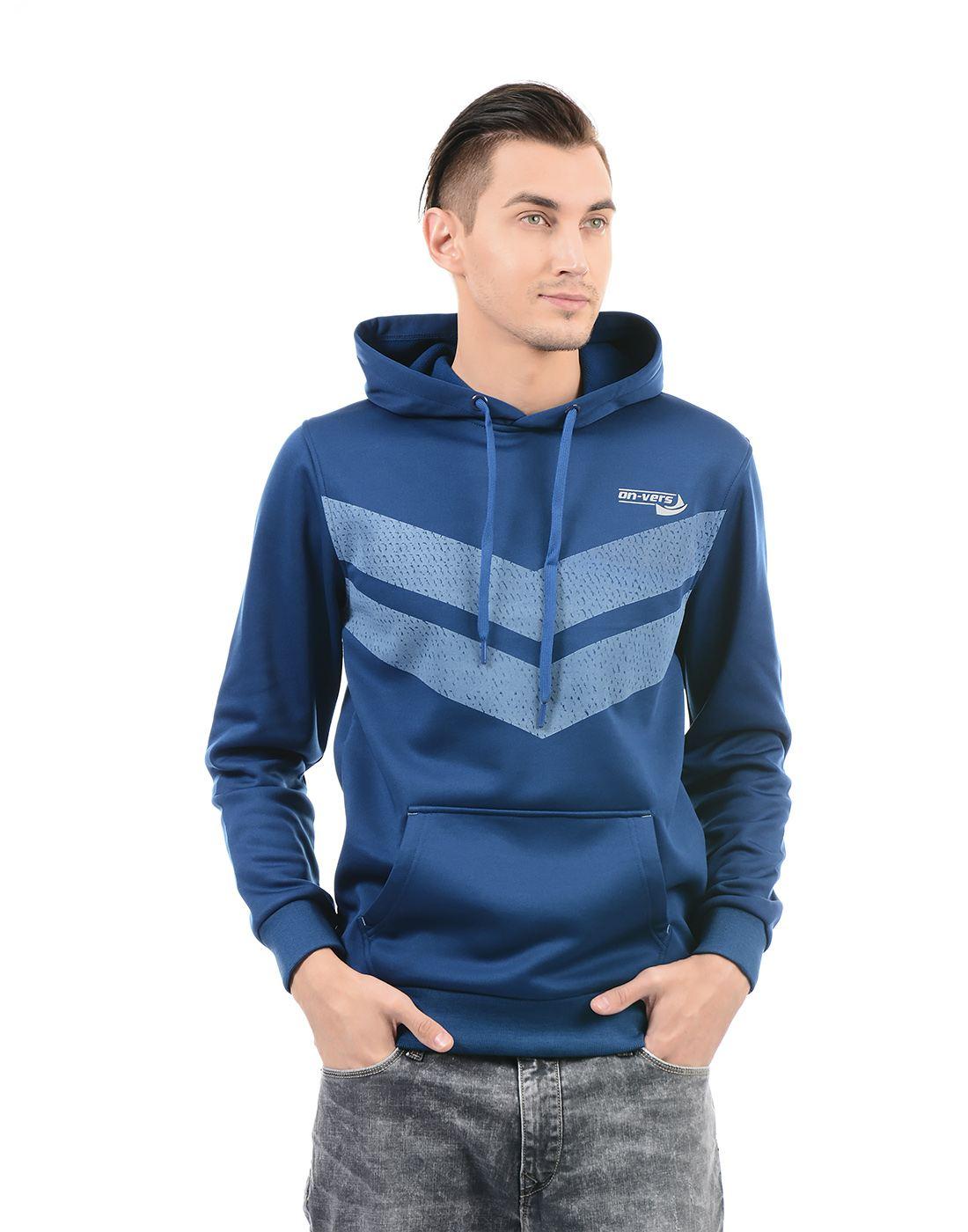 On-Vers Men Navy Sweatshirt
