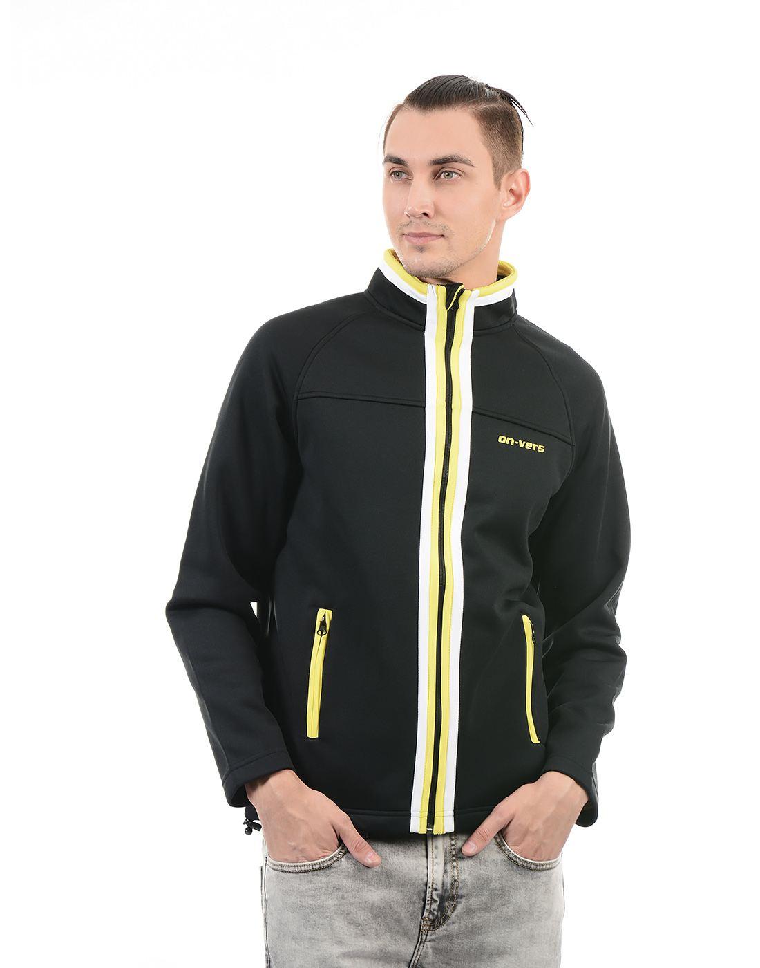 On-Vers Men Black Jacket