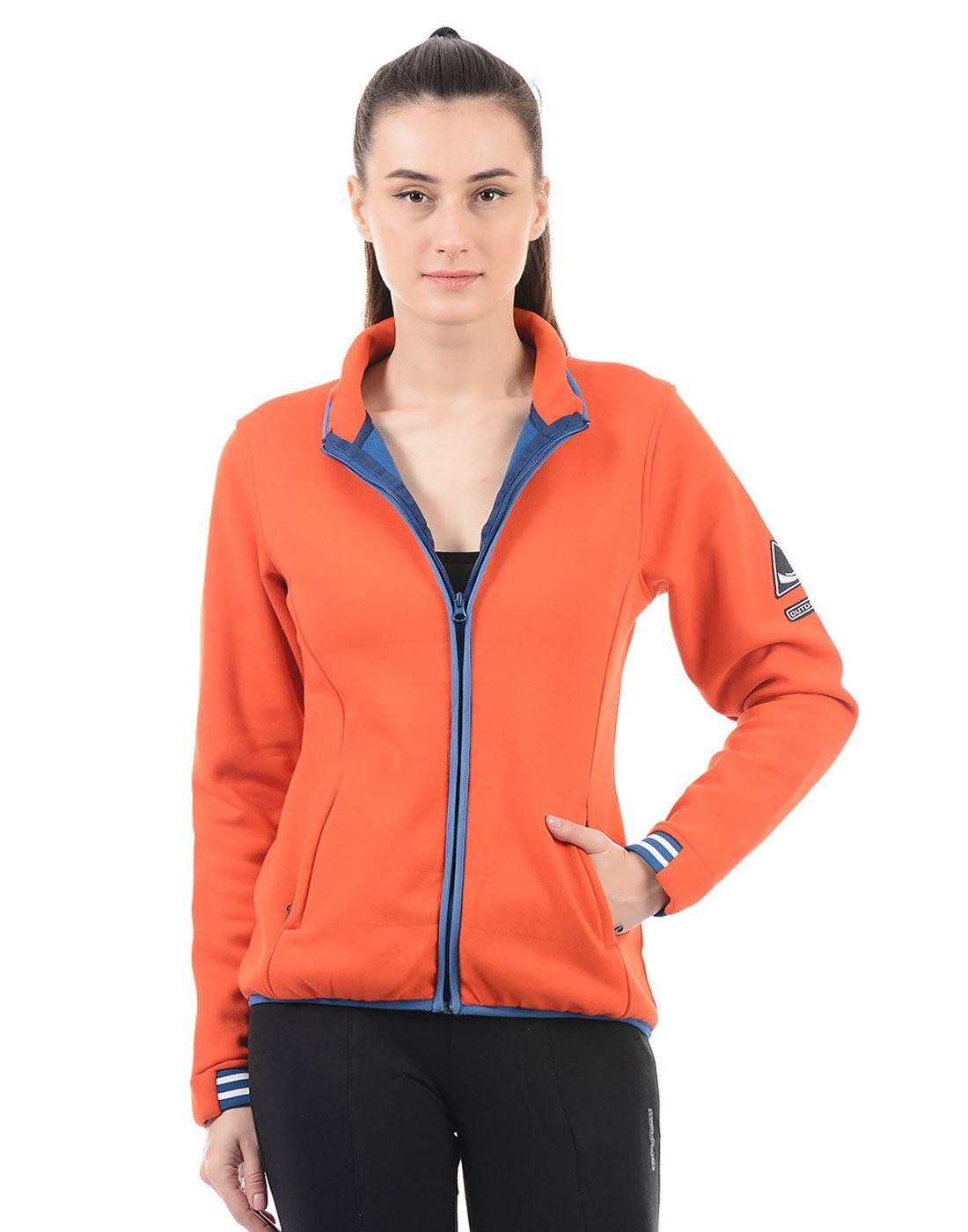 On-Vers Women Orange Jacket