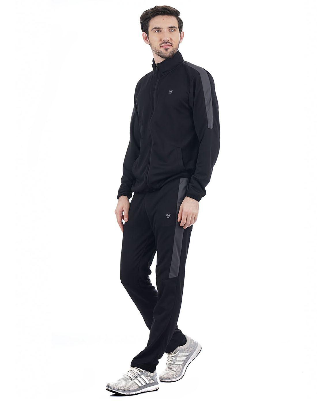On-Vers Men Black/Grey Track Suit