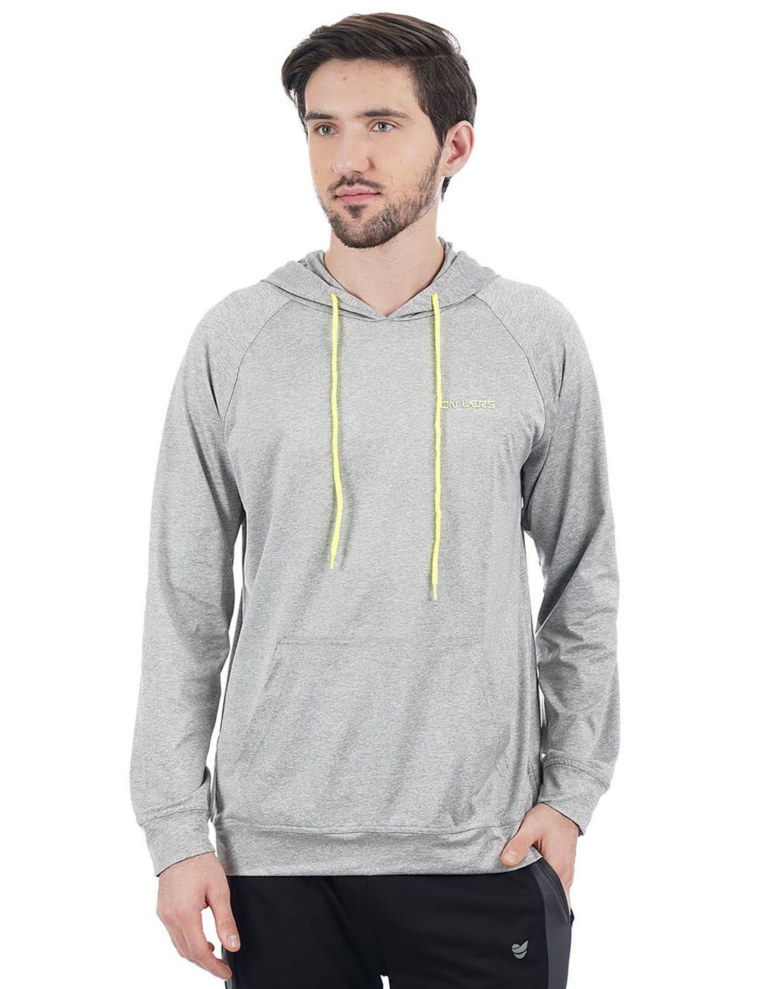 On-Vers Men Casual Wear Solid Sweatshirt