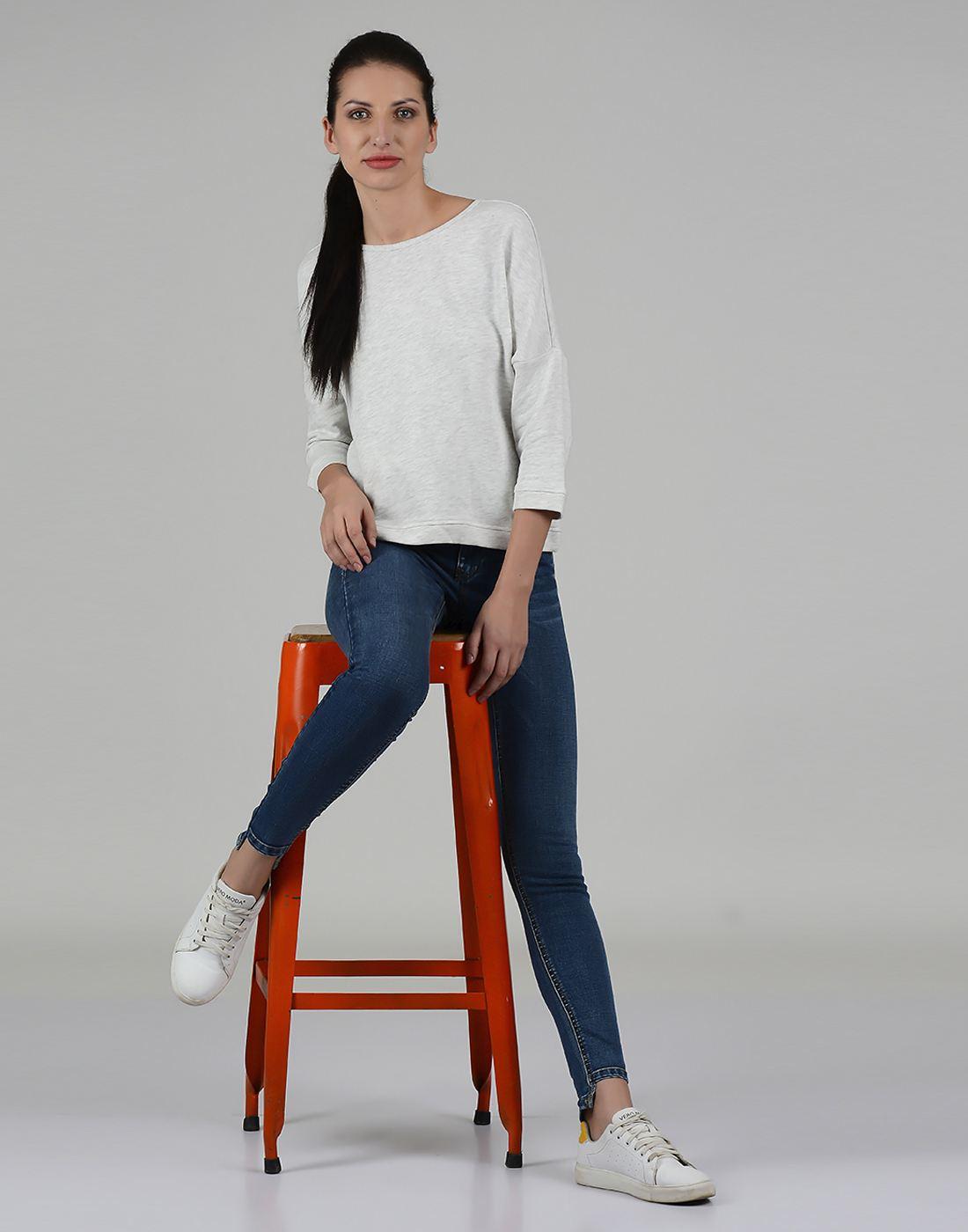 Only Women Casual Blue Jean