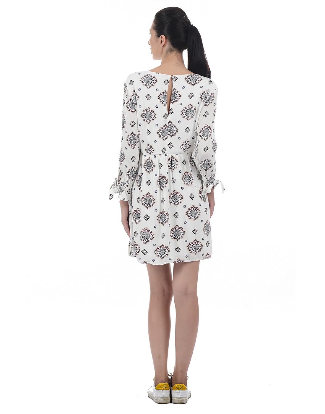 Only Women Casual White Dress