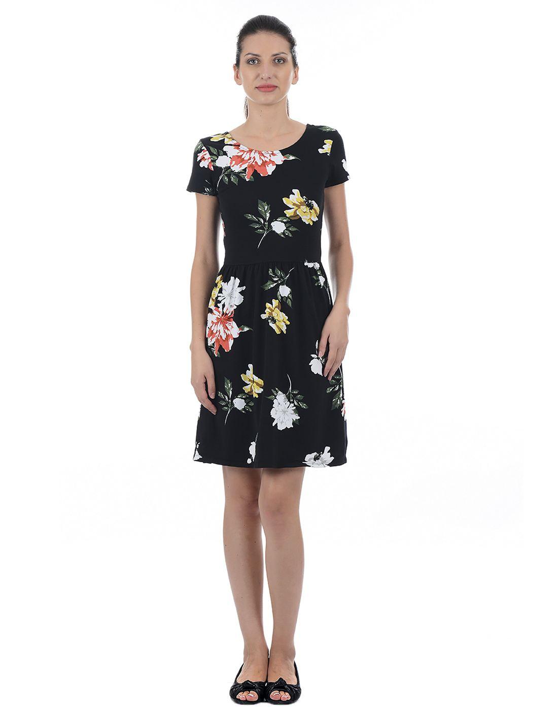Only Women Casual Black Dress