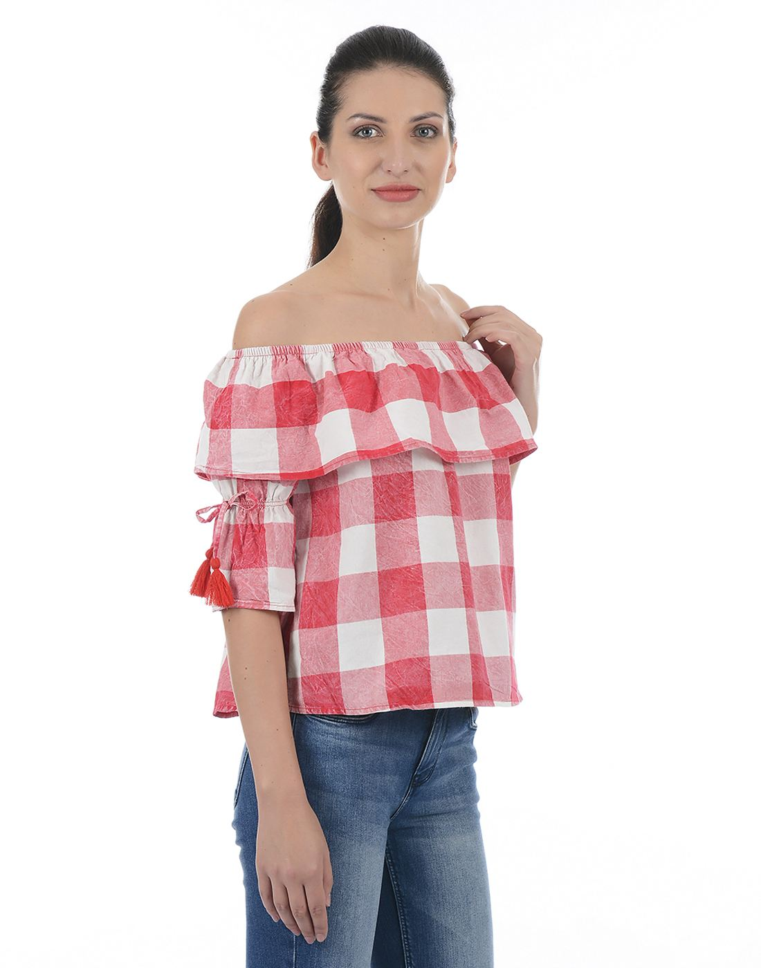 Only Women Casual Pink Top