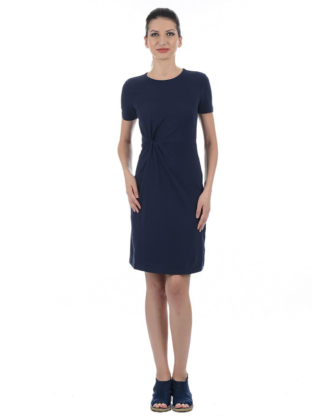 Only Women Casual Blue Dress