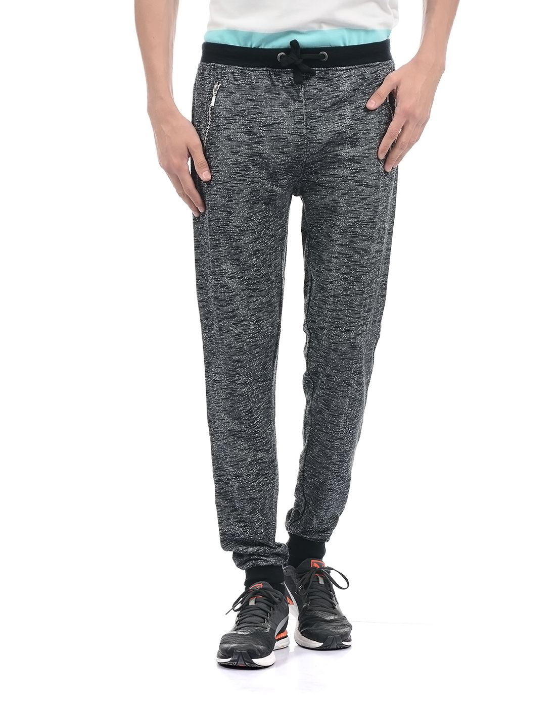 Pepe Jeans Men Casual Wear Solid Track Pants