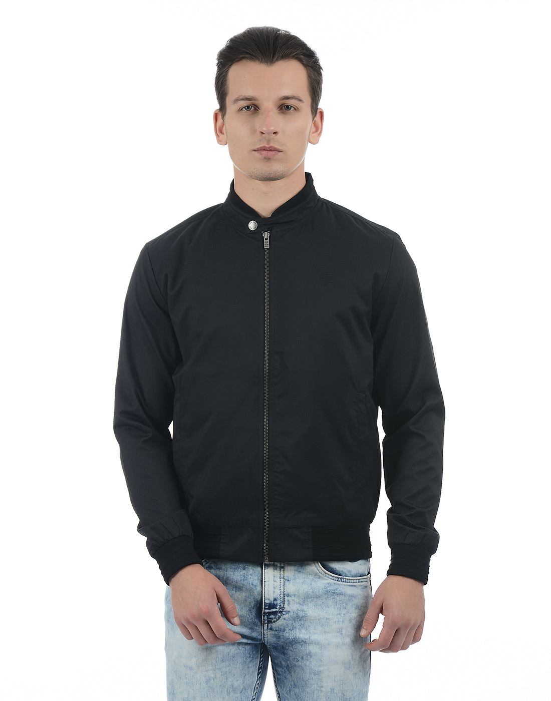 Pepe Jeans Men Solid Black Jacket