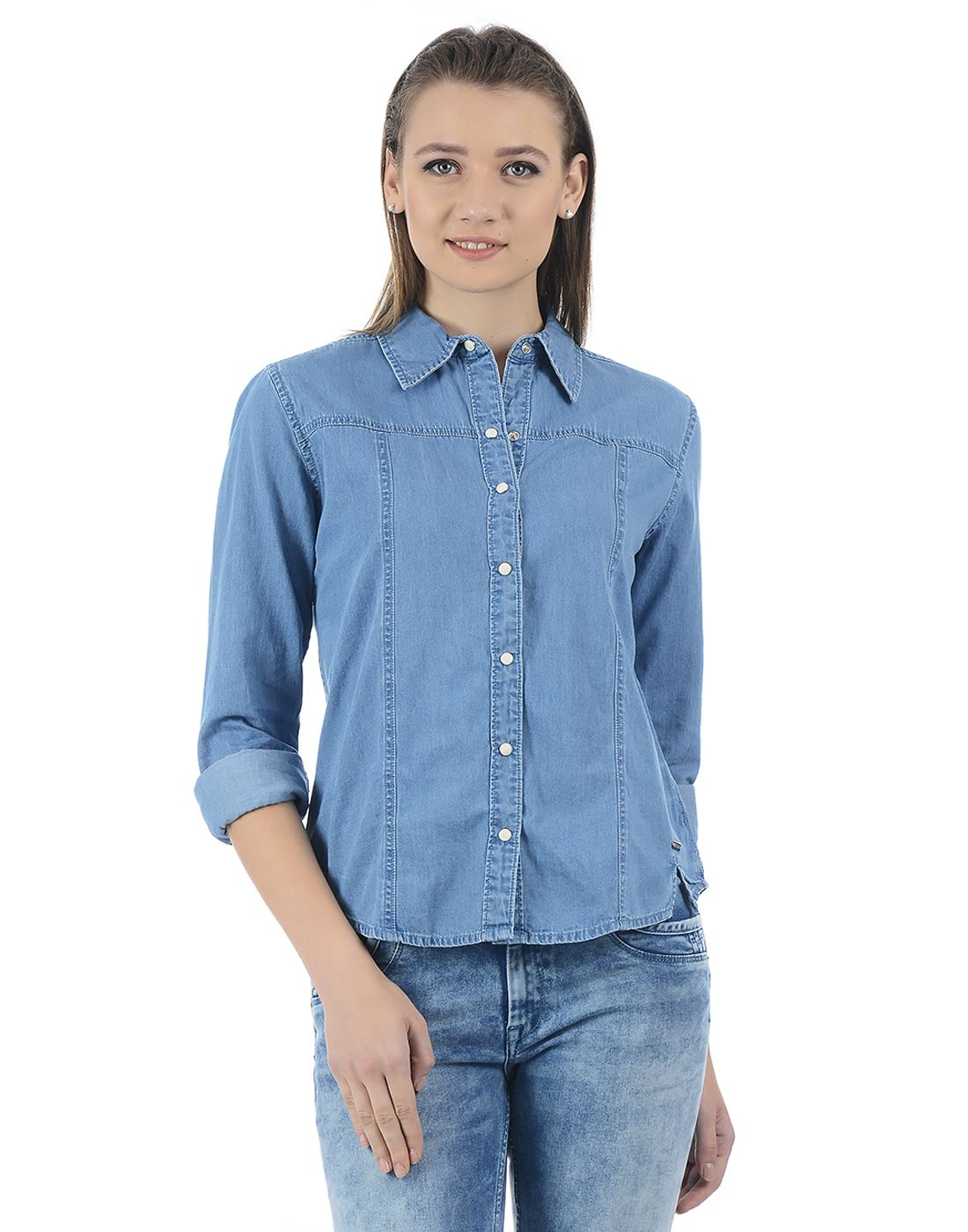 Pepe Jeans Women Solid Shirt
