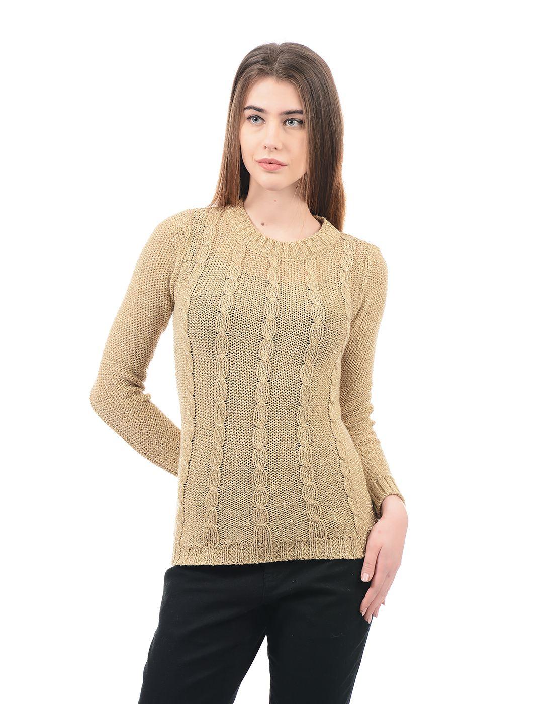 Species Women Brown Pullover