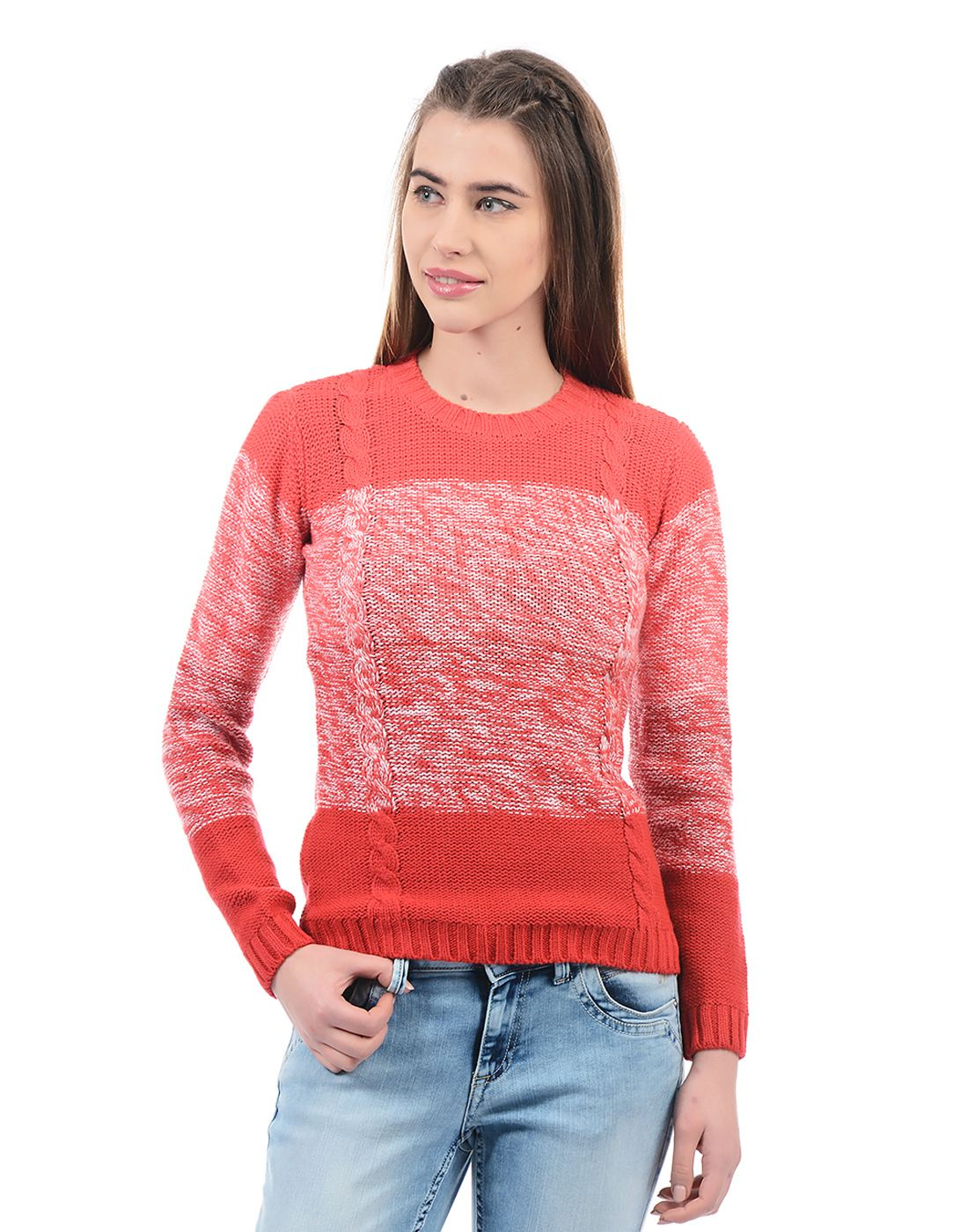 Species Women Red Pullover