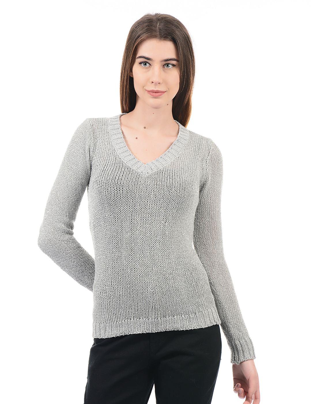 Species Women White Pullover
