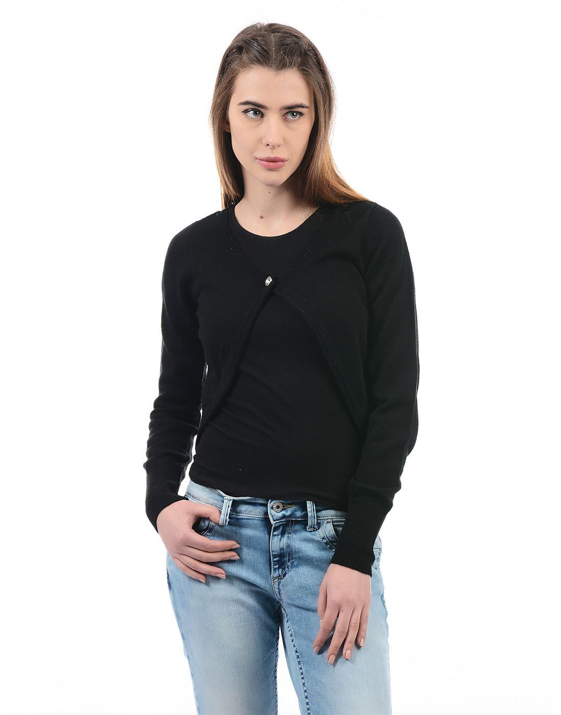 Species Women Black Shrug
