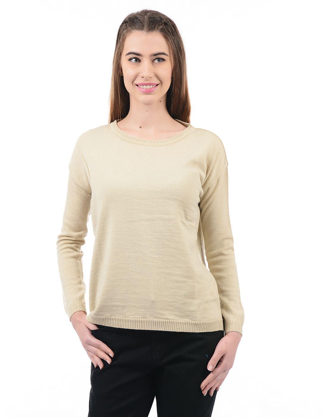 Species Women Beige Pullover