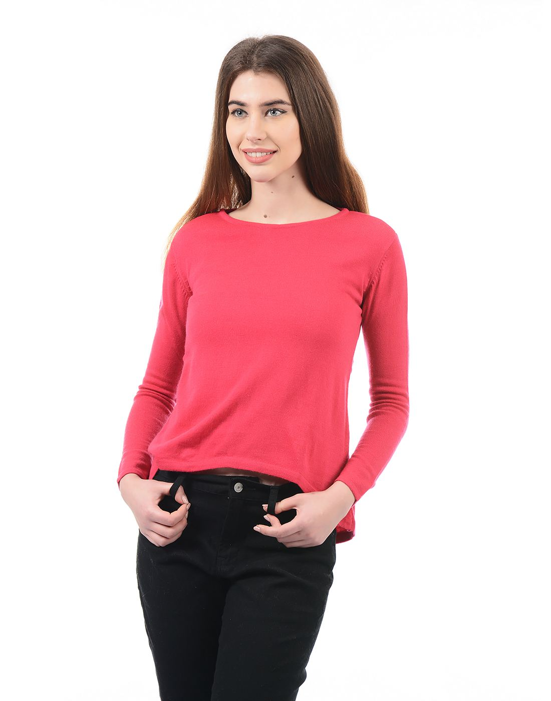 Species Women Red Pullover
