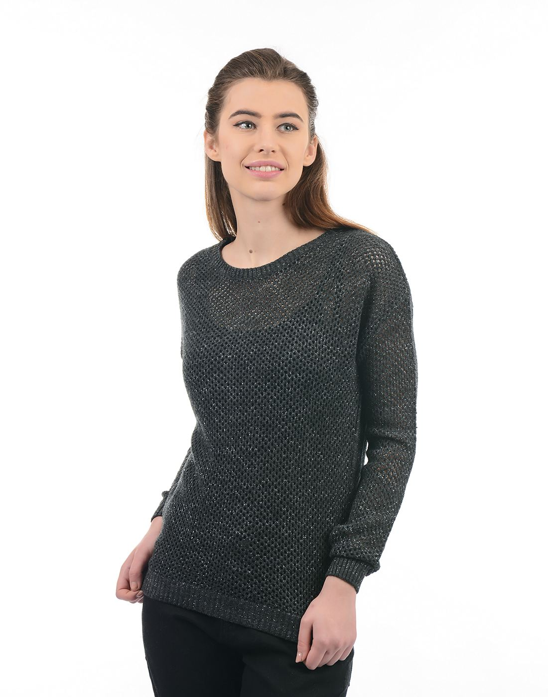 Species Women Grey Sweater